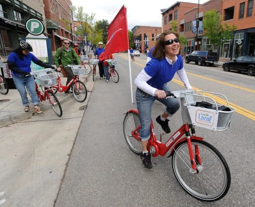 B-cycle starts in Boulder