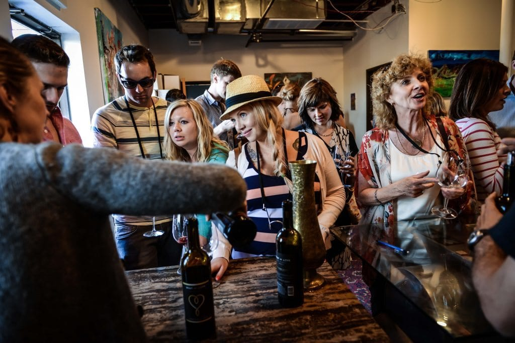 What We Love, The Winery: Grand Opening Party