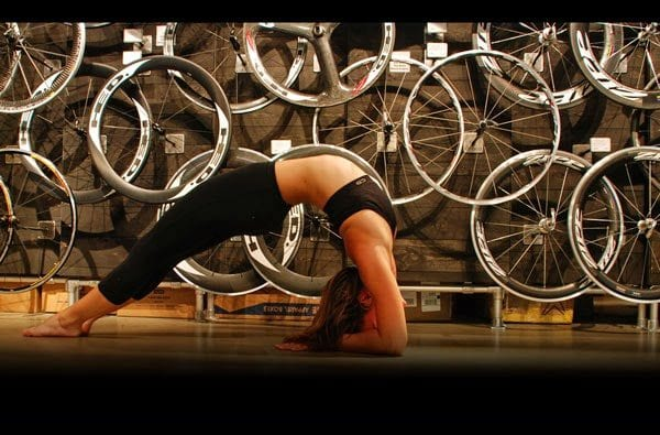 yoga triathlete