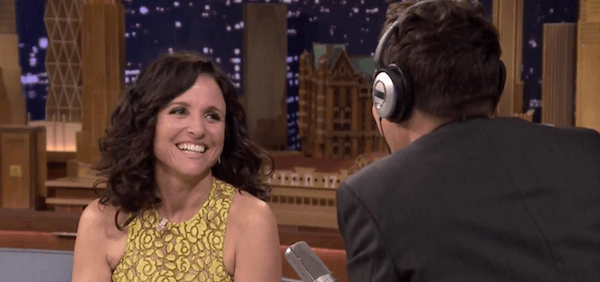 Julia Louis-Dreyfus with Fallon