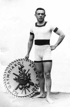Male Olympic Swimmer 1896