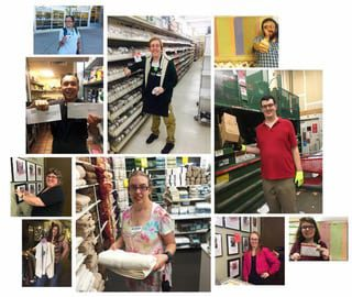Apprentices at Work Collage