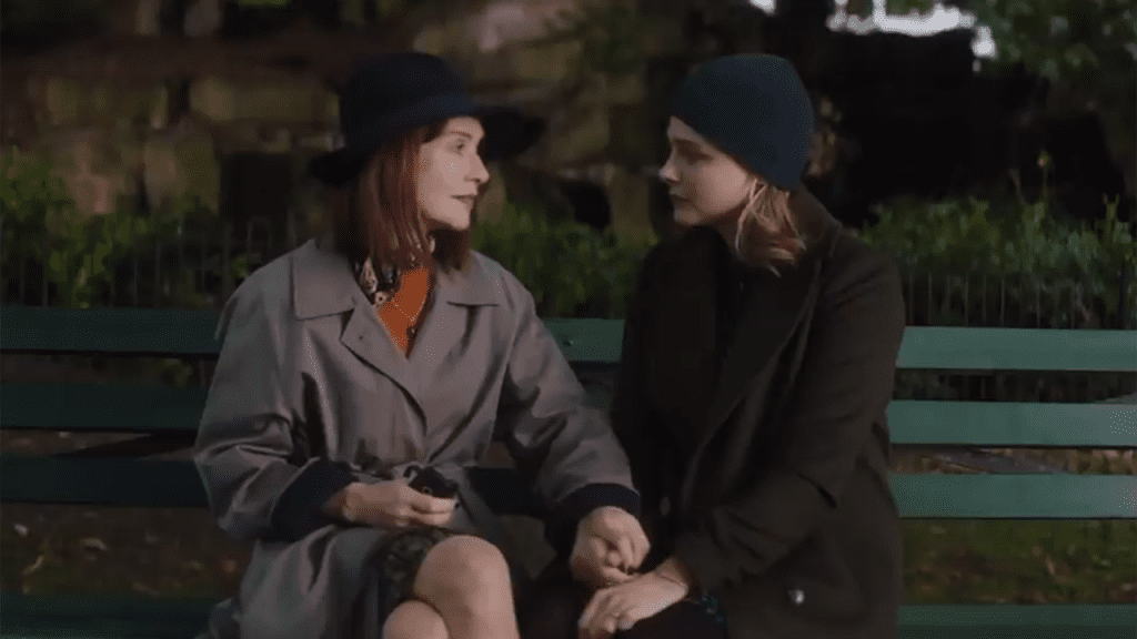 isabelle huppert and chloe grace moretz