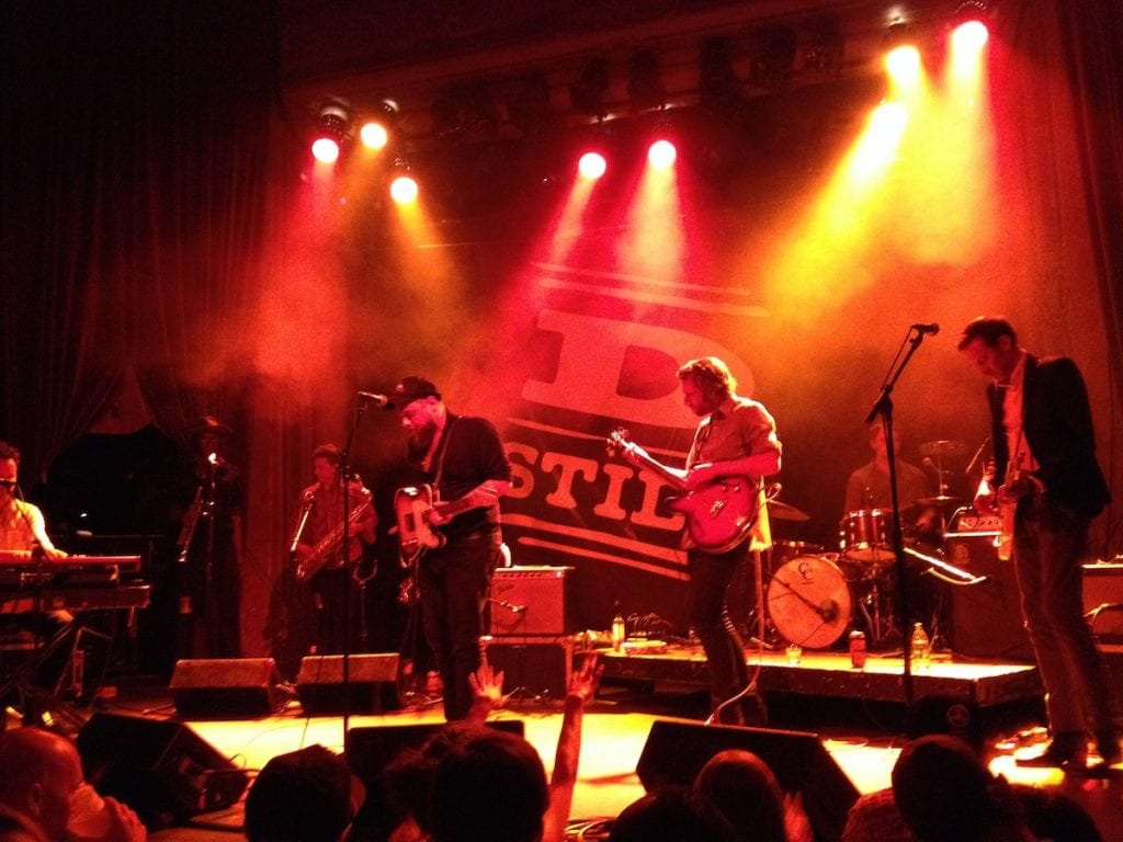 Rateliff Dining out Denver