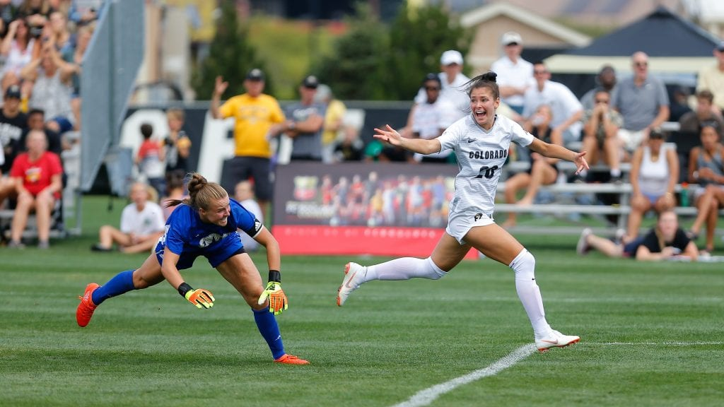Pic of the Day - CU Women's Soccer