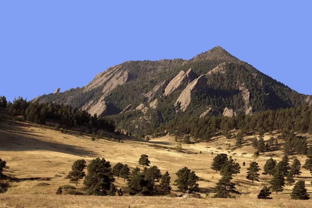 Pic of the Day - Boulder Flatirons!