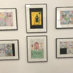 Figge Museum Young Artists exhibit works